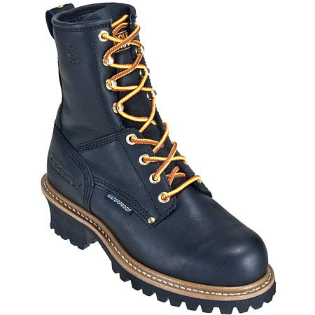 Carolina Women's Waterproof CA420 Black Logger Boots