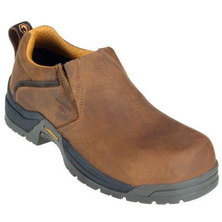b4b29618209e Carolina Shoes Men Non-Metallic Composite Toe Brown Shoes CA1521