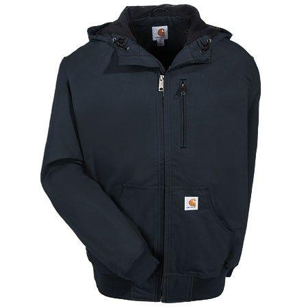Carhartt Jackets: Men's Ishpeming Black 100248 001 Water Repellent Work Jacket Sale $100.00 Item#100248-001 :
