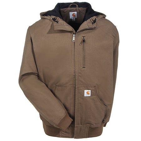 Carhartt Jackets: Men's Ishpeming Canyon Brown 100248 908 Water Repellent Jacket Sale $100.00 Item#100248-908 :