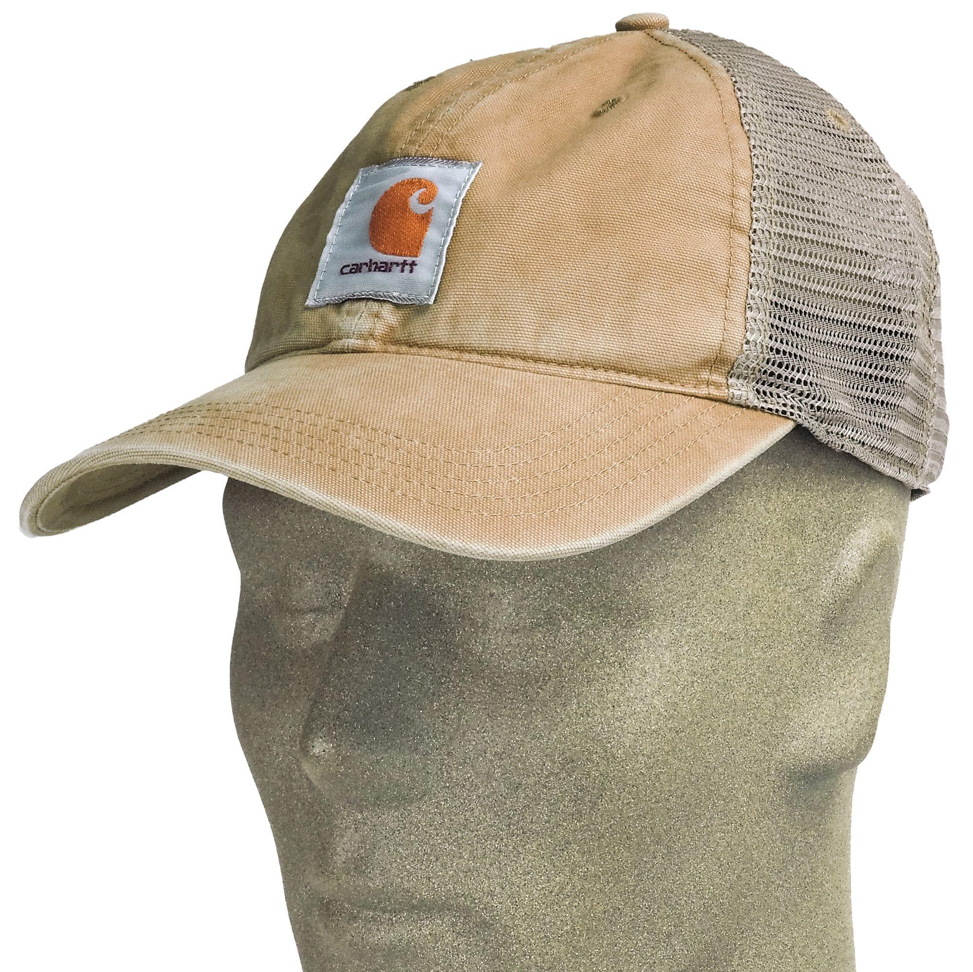 463561695ee Carhartt Hats  Men s 100286 253 Dark Khaki Buffalo Mesh Back ...