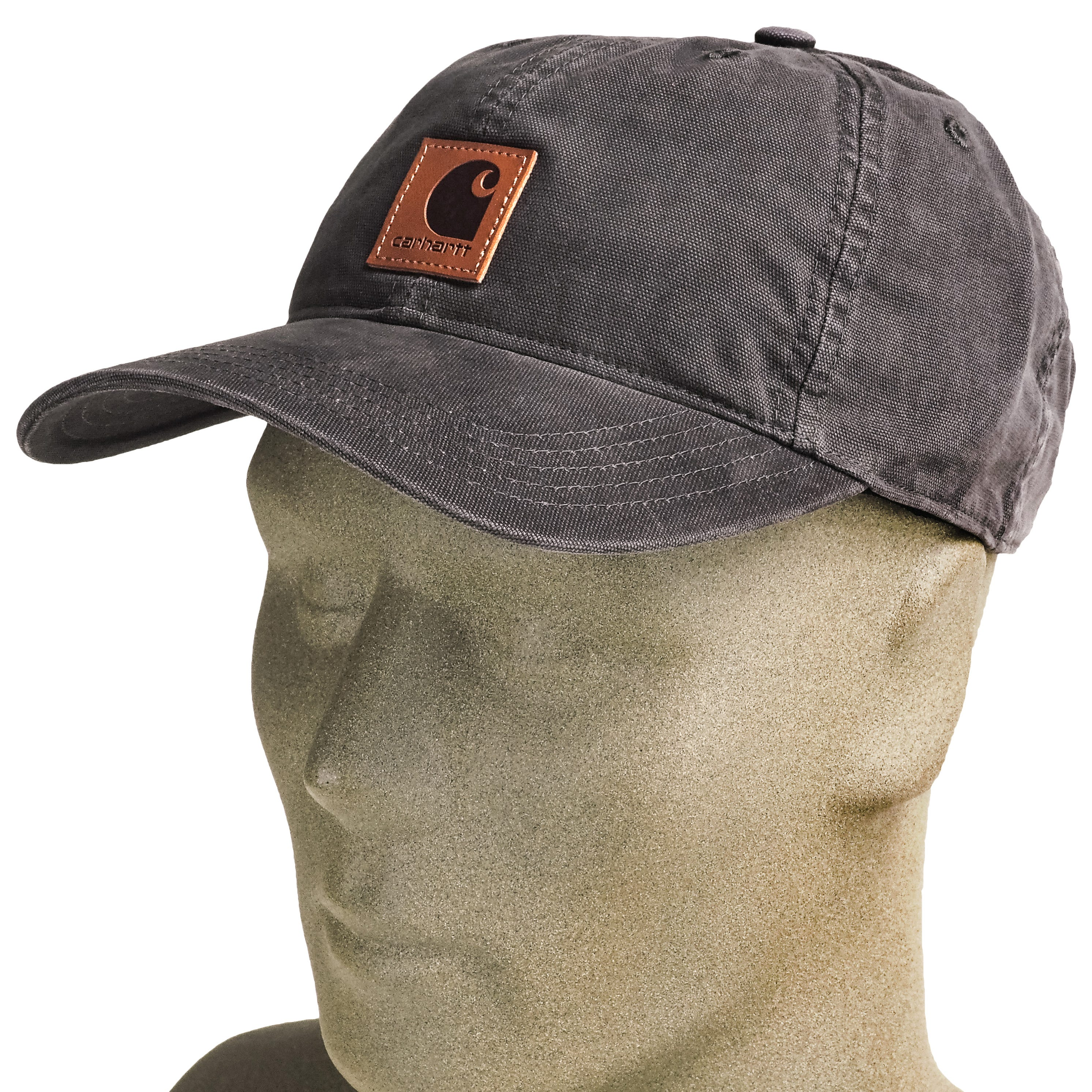 72a1d35b95636 Carhartt Hats  Men s 100289 001 Black Canvas Odessa Cap - Clothes ...