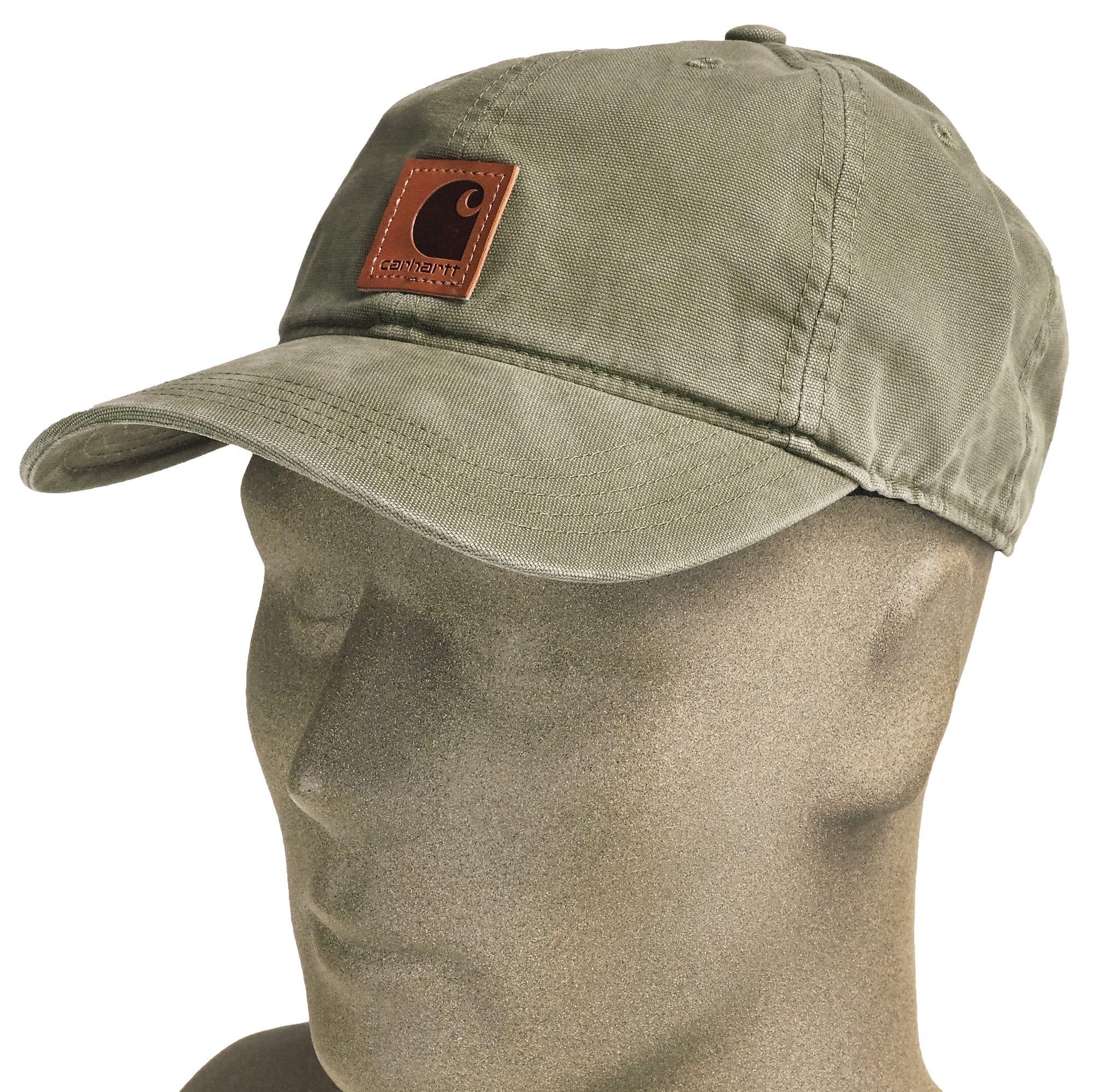 f70560483dcdc Carhartt 100289 301 Army Green Odessa Canvas Cap