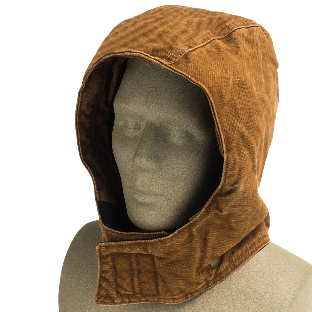 Carhartt Hoods Men S Arctic Quilt Lined 102367 211 Brown