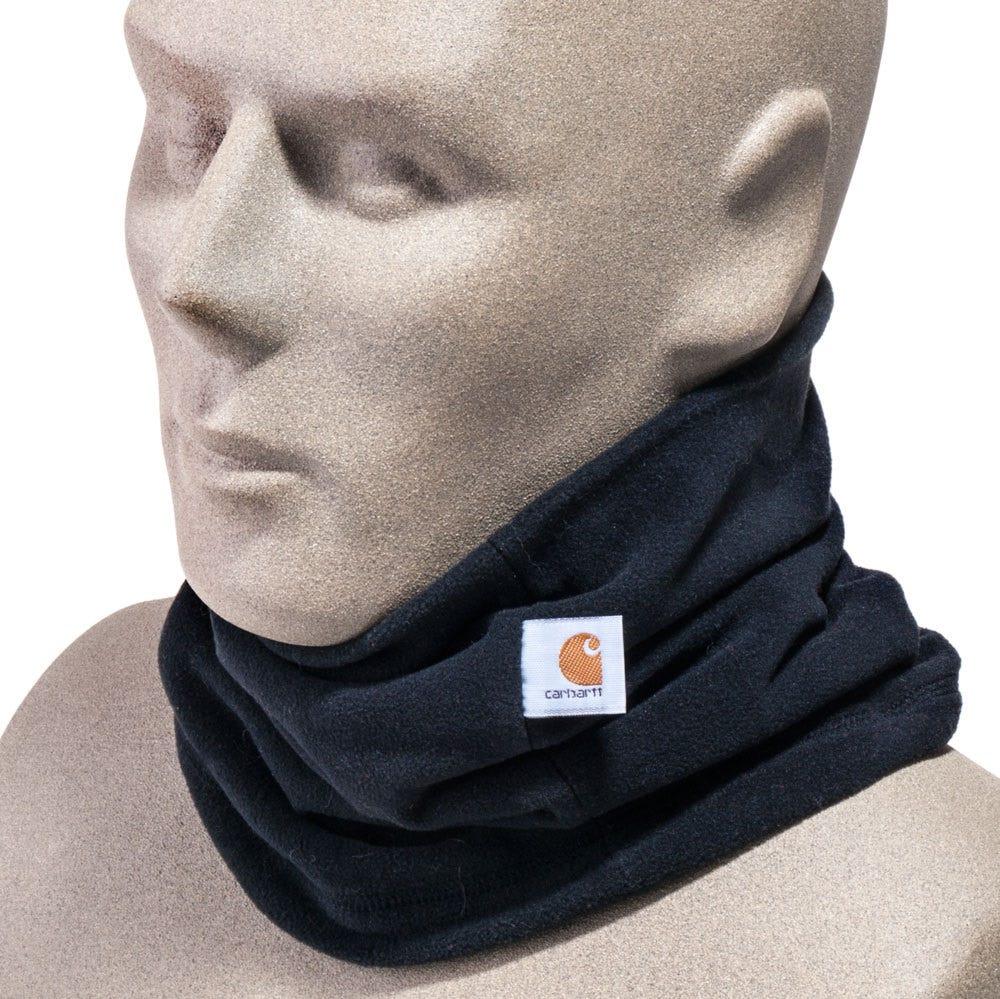Carhartt Men's A204 BLK Black Fleece Neck Gaiter