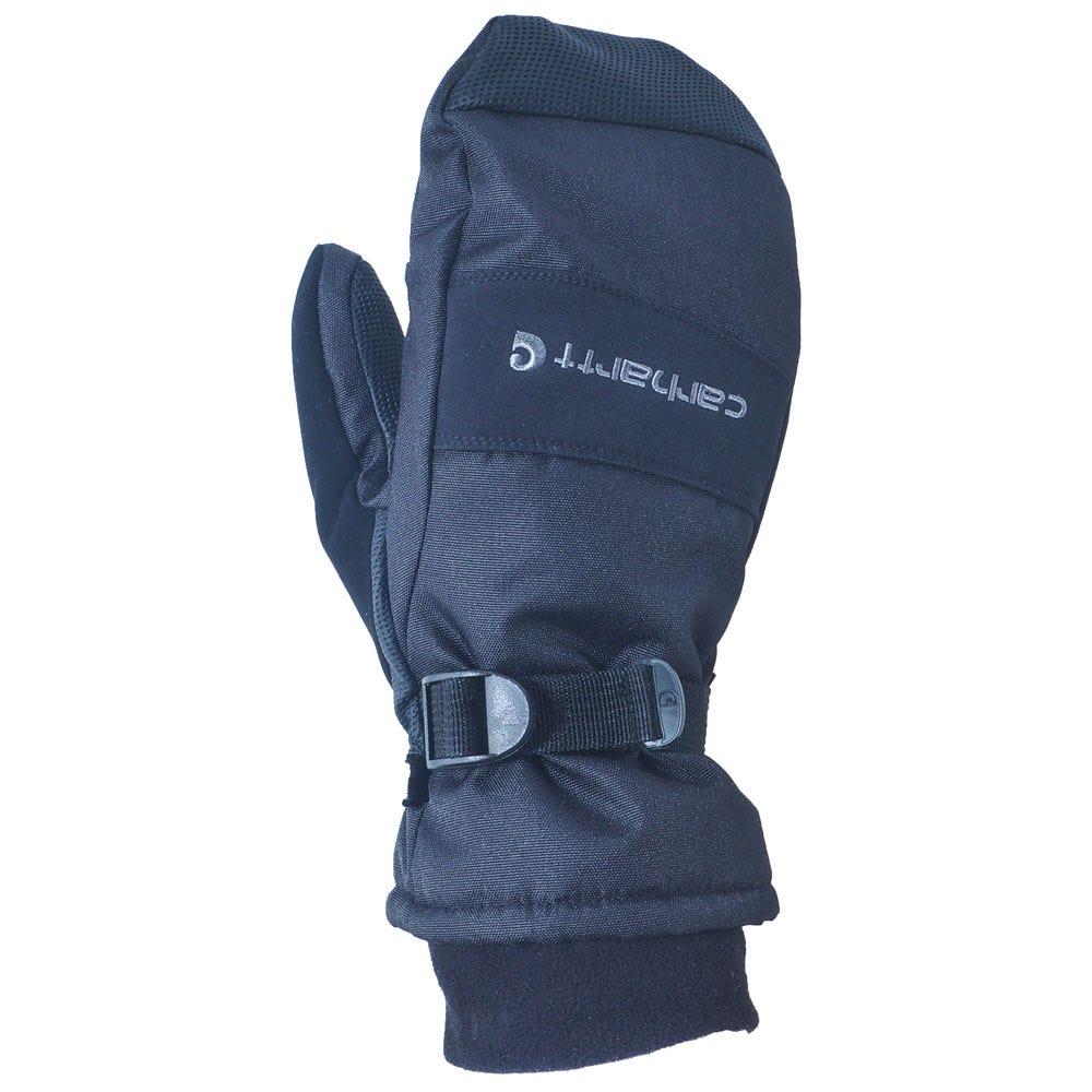Carhartt Mittens: Men's A616 BLK Black Sweat-Wicking Cotton Blend Polytex Mittens
