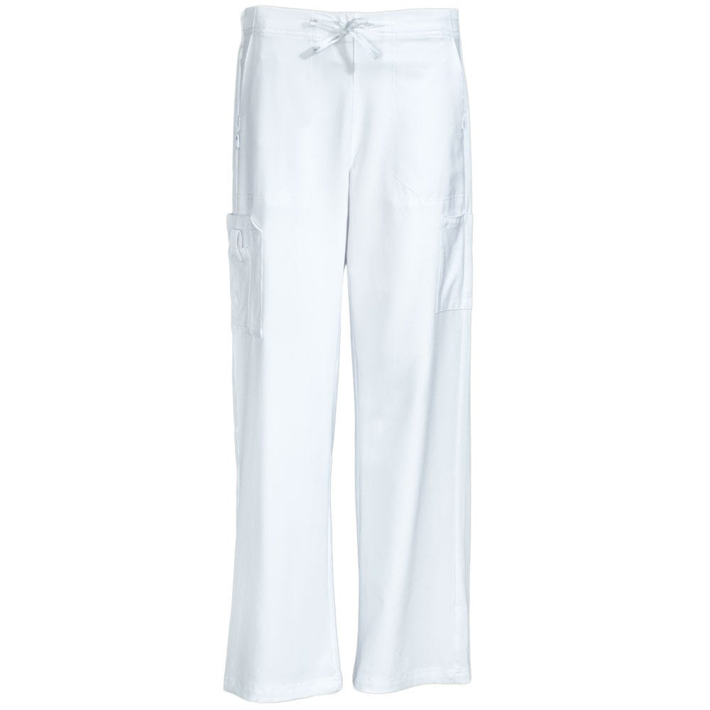 Carhartt Women's C52110 WHT White Boot Cut Utility Scrub Pants