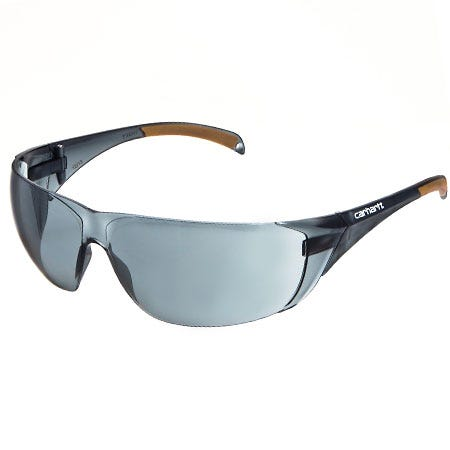 Carhartt Glasses By Pyramex Men's CH120ST Grey Lens Anti Fog Billings ANSI Safety Sunglasses
