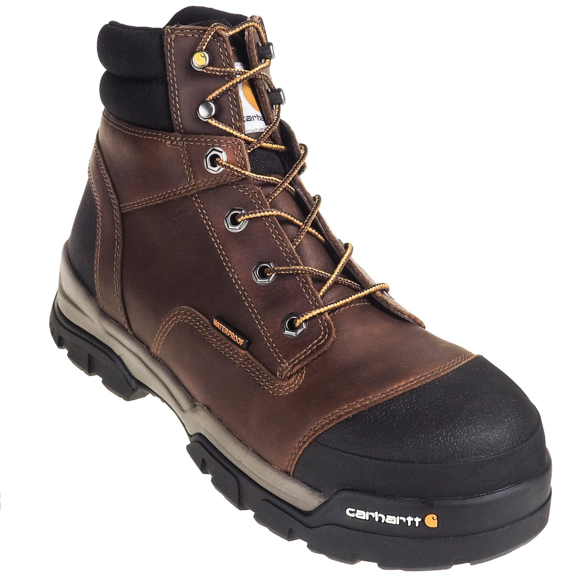 f176fdaf0c0 Carhartt Boots: Men's CME6355 Energy 6-Inch Waterproof Composite Toe ...