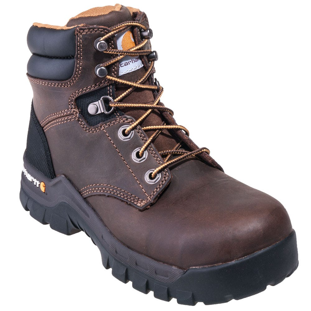 Carhartt Women's CWF5355 Brown Composite Toe EH 6-Inch Work Boots