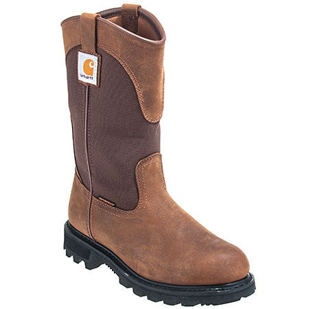 Carhartt Women's Waterproof CWP1150 Bison Leather EH Wellington Boots