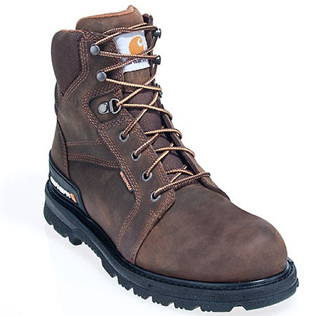 Carhartt Boots Men's CMW6250 Steel Toe Waterproof EH Work Boots