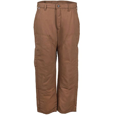 Carhartt Pants: Men's Brown Cotton Duck Insulated Waist Overall Quilt Lined Pants B194 211 Sale $75.00 Item#B194-211 :