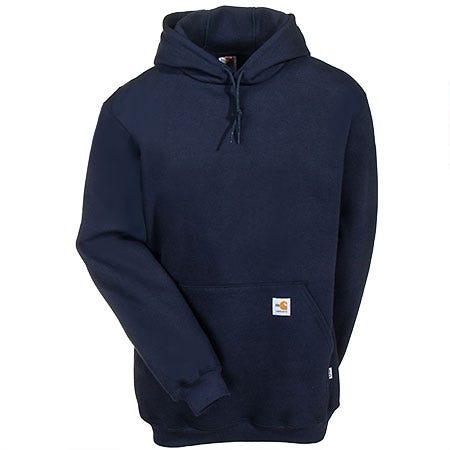 Carhartt Sweatshirts: Men's FRK006 DNY Flame Resistant Heavyweight Sweatshirt Sale $142.00 Item#FRK006DNY :