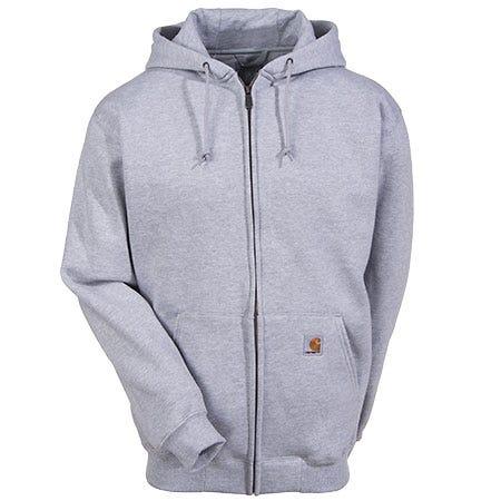 Carhartt Sweatshirts: Cotton Blend Zip Sweatshirt K185 HGY Sale $60.00 Item#K185HGY :