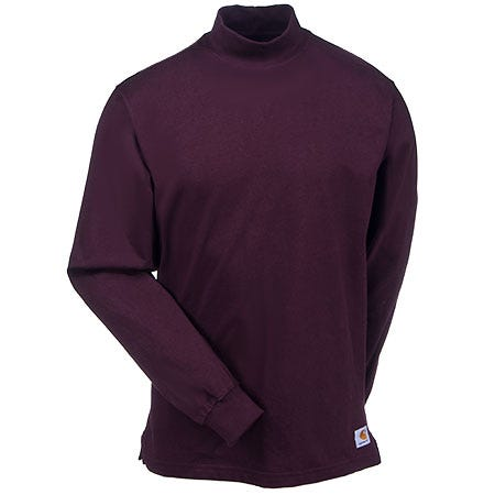 5c45812b06 Carhartt Shirts  Men s Port K203 PRT Mock Turtleneck Work Shirt ...