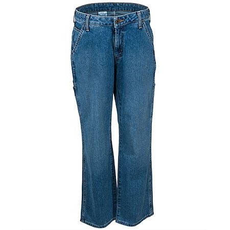 Carhartt Jeans: Women's Relaxed Fit Carpenter Jeans WB058 FBI Sale $37.00 Item#WB058FBI :