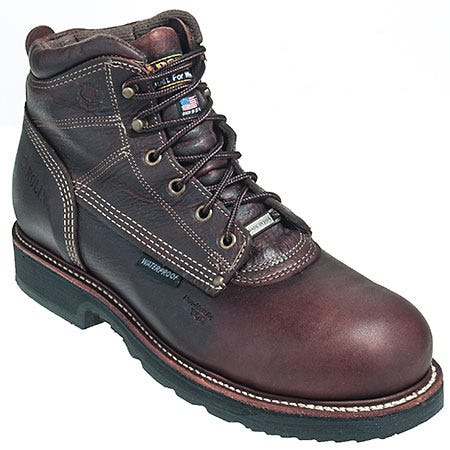 Carolina Boots Men's USA Made CA815 Waterproof EH Work Boots
