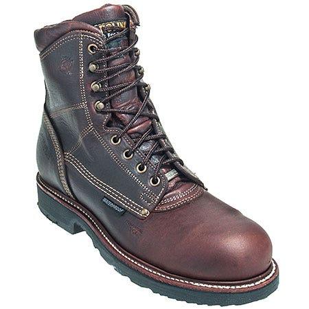 Carolina Boots: Men's Brown CA1816 USA Made Composite Toe Waterproof Work Boots Sale $250.00 Item#CA1816 :