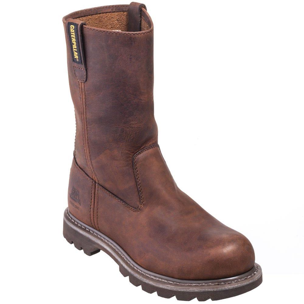 Caterpillar Women's 90418 Steel Toe EH Brown Revolver Work Boots