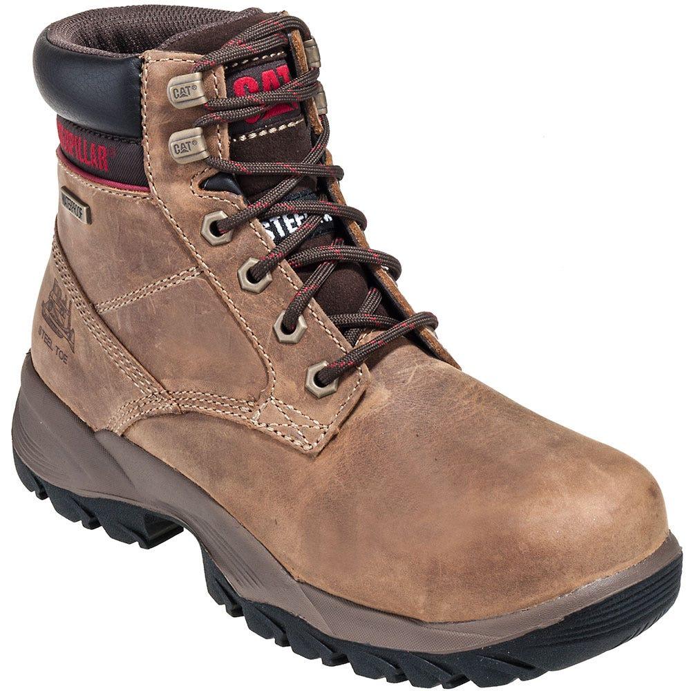 CAT Women's Steel Toe Boots 90443