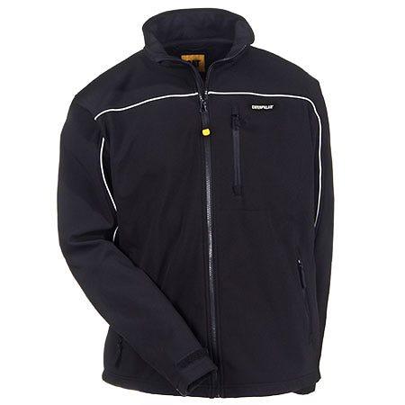 CAT Black W11440 016 Flexshell Water Resistant Jacket