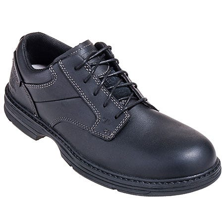 Caterpillar Shoes: Men's Black 90015 Steel Toe ESD Oversee Oxford Work Shoes