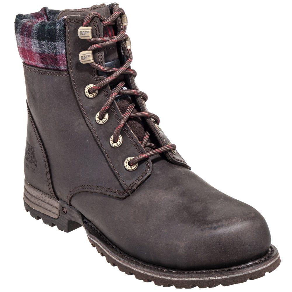 Caterpillar Women's 90394 Bark Kenzie Steel Toe Boots