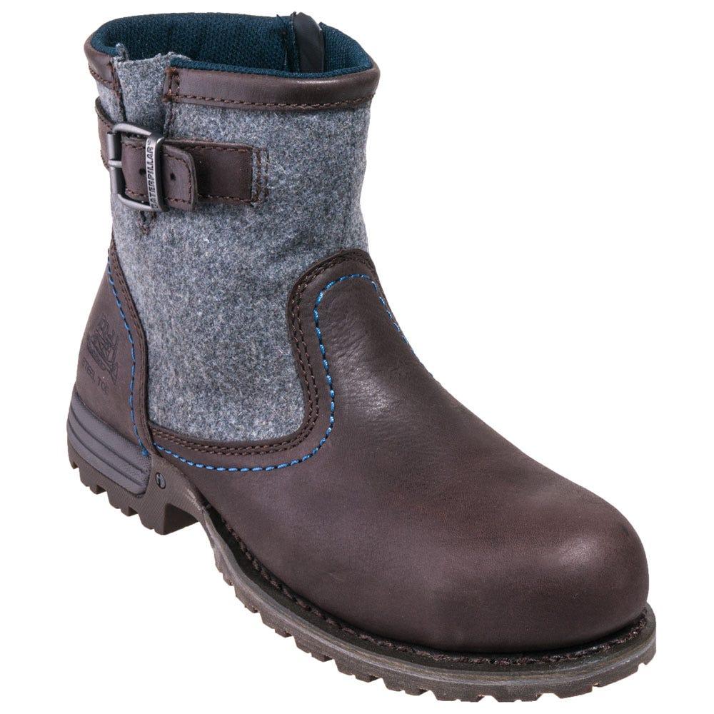 Caterpillar Women's 90563 Steel Toe Brown EH Work Boots