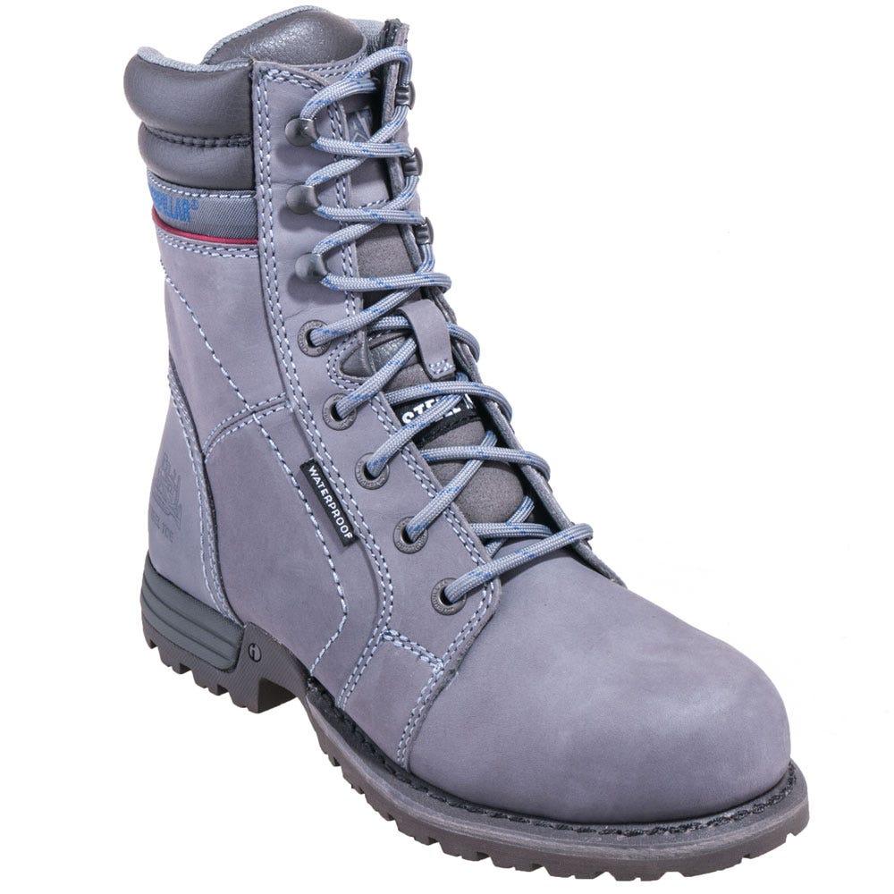 Caterpillar Women's 90565 Steel Toe Waterproof Grey Echo Work Boots