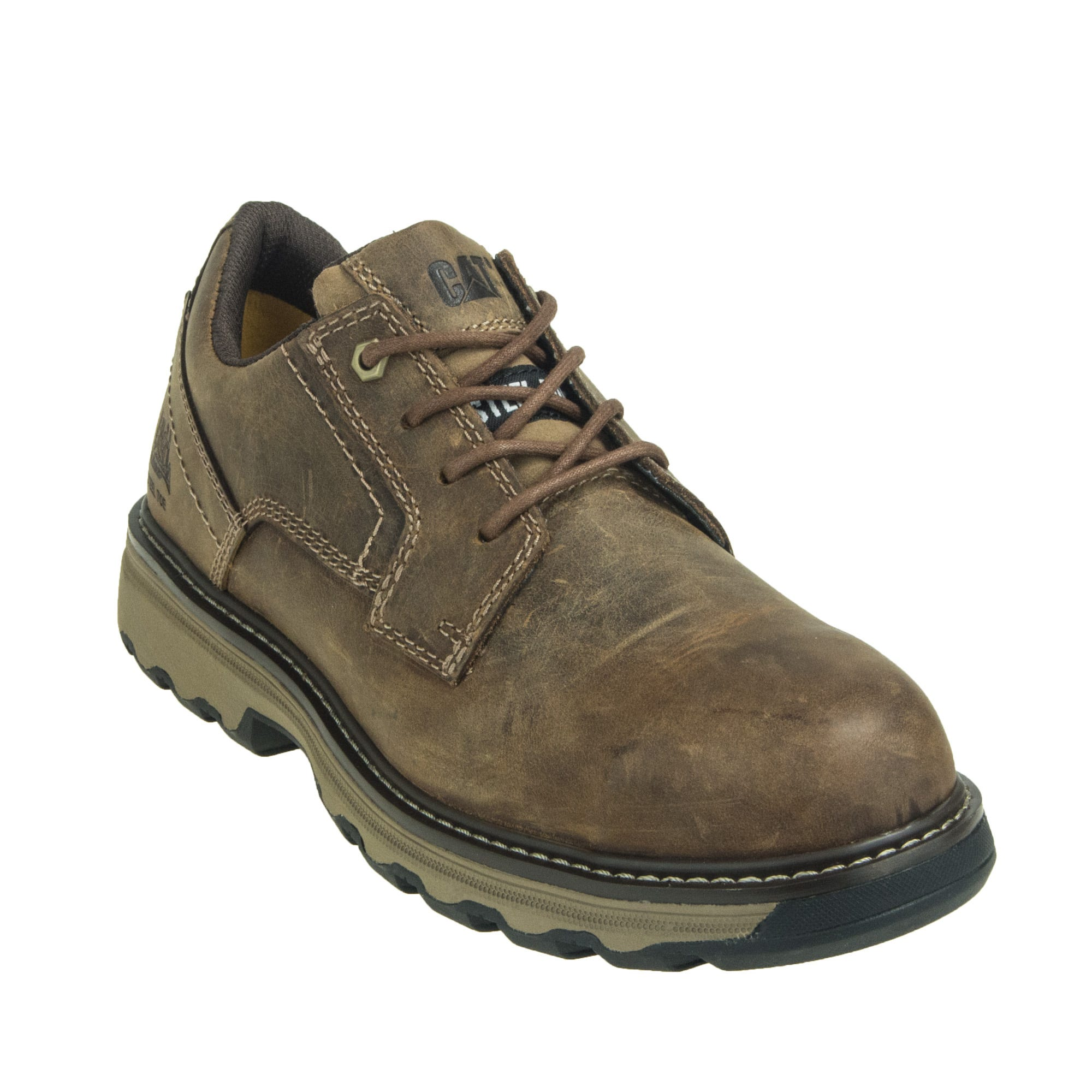 Caterpillar Tyndall Men's Brown 90711 ESD Work Oxfords