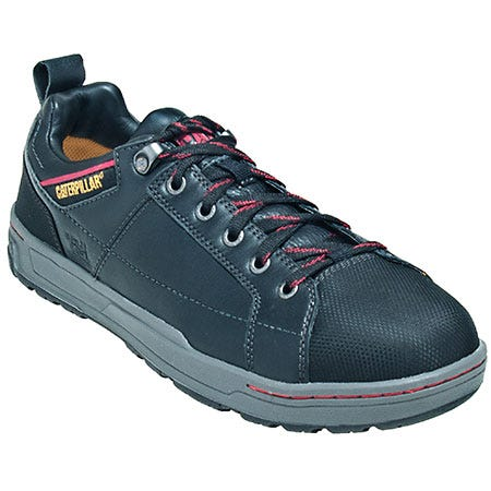 Caterpillar Black 90192 EH Brode St Oxford Work Shoes