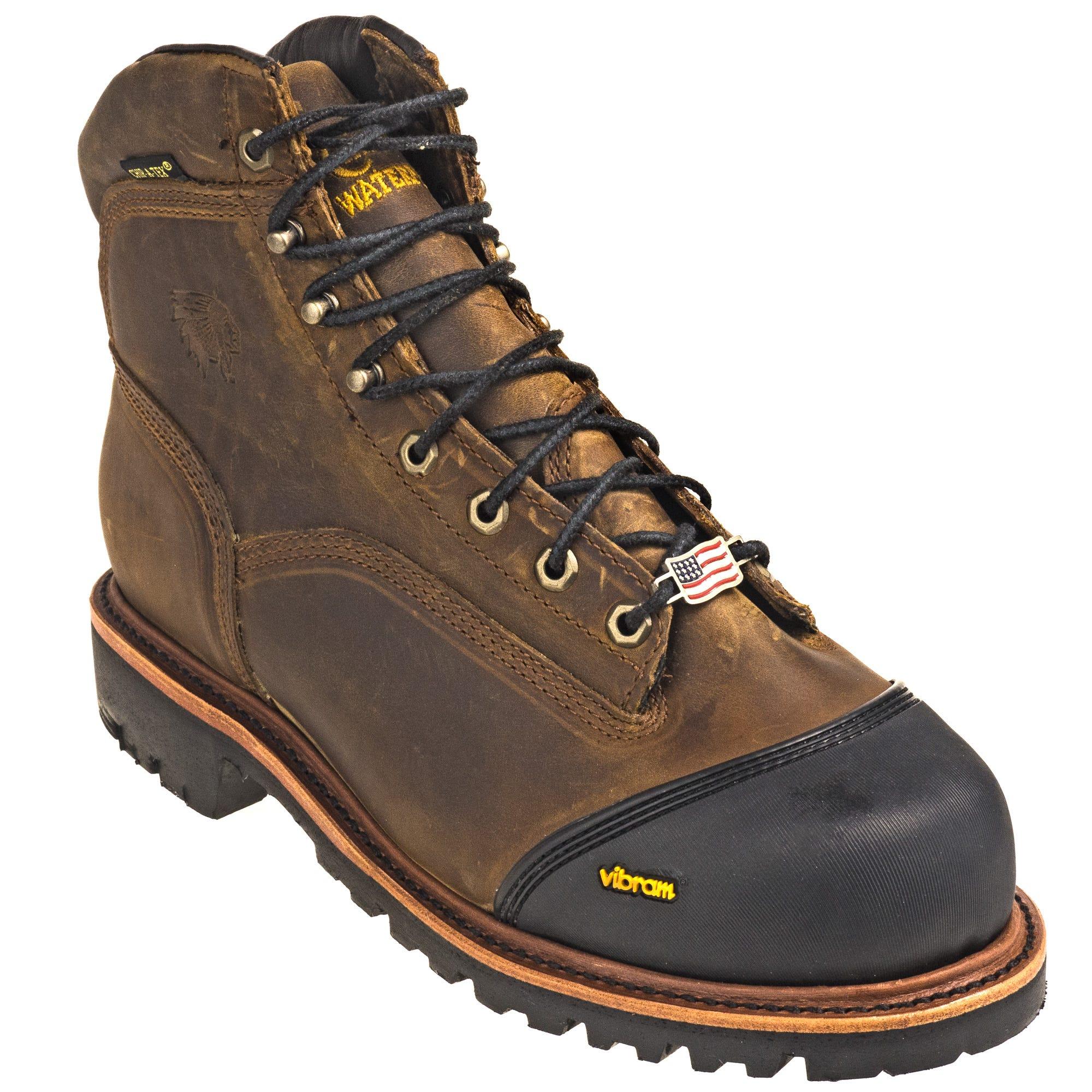2fc03ecc22f Chippewa Boots: Waterproof Men's 25371 Brown Composite Toe EH Super ...