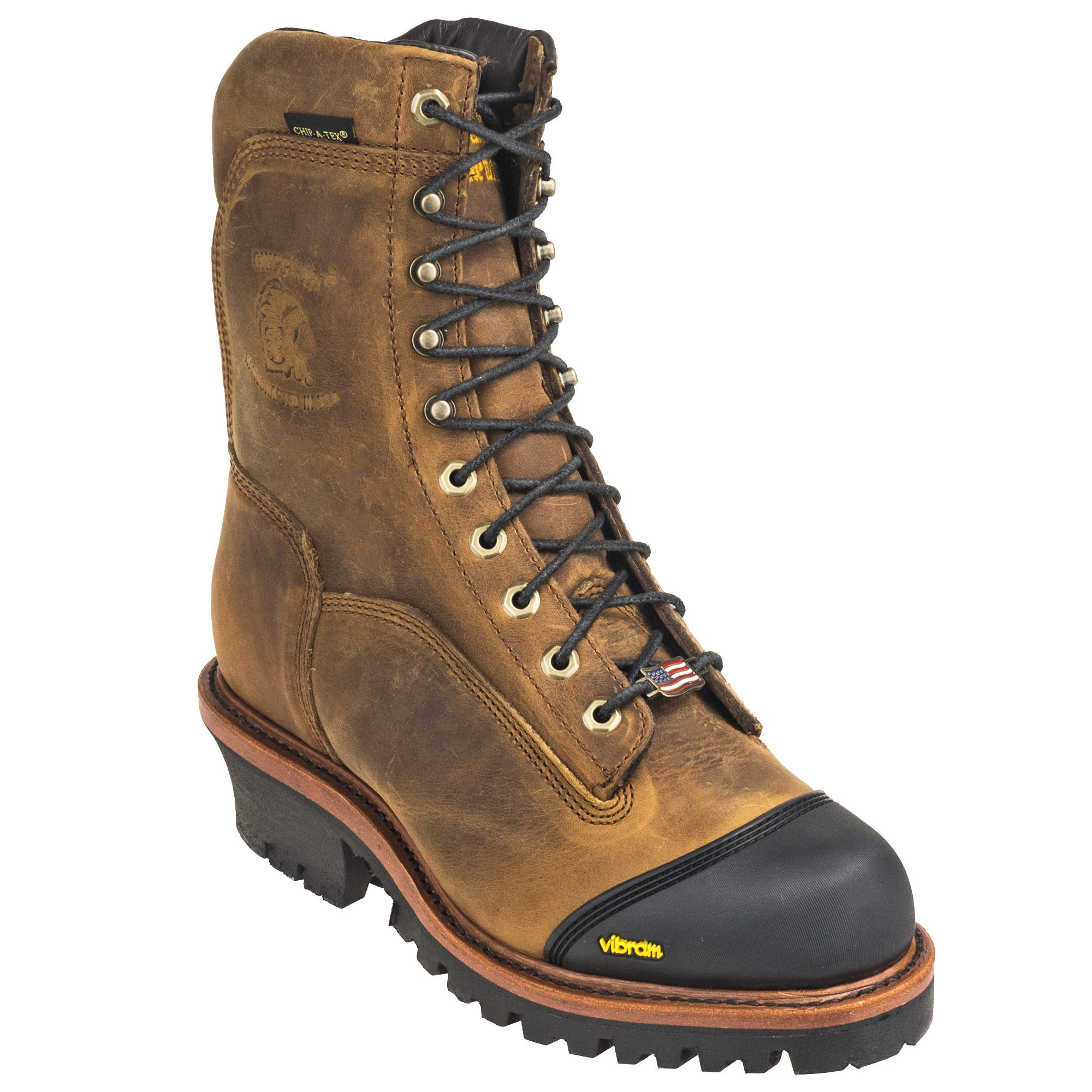 70c6502af30 Chippewa Boots: Men's Insulated 9-Inch Brown 25387 Super Series ...