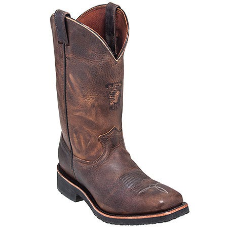 Chippewa Boots: Men's USA-Made 29324 Square Toe Cowboy Boots