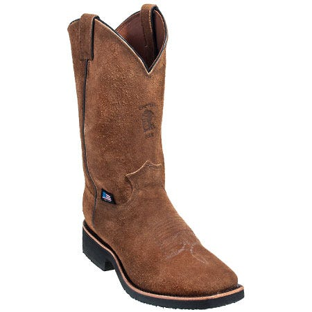 Chippewa Boots Men's 29331 USA Made Square Toe Cowboy Boots