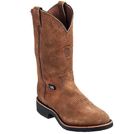 Chippewa Boots: Men's 29332 USA-Made Tan Pull-On Boots