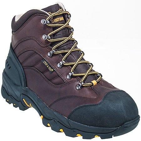 Chippewa Boots: Men's Waterproof 55200 Brown Hiking Boots