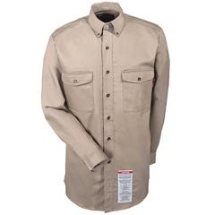 Walls Shirts: Men's Flame-Resistant Khaki Work Shirt FRO56390 KH Sale $67.00 Item#FRO56390-KH :