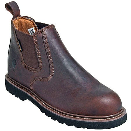 Laceless Steel Toe Shoes