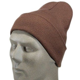 Port And Company Caps: Brown Acrylic Knit Cap CP90 BRN Sale $6.00 Item#CP90-BRN :