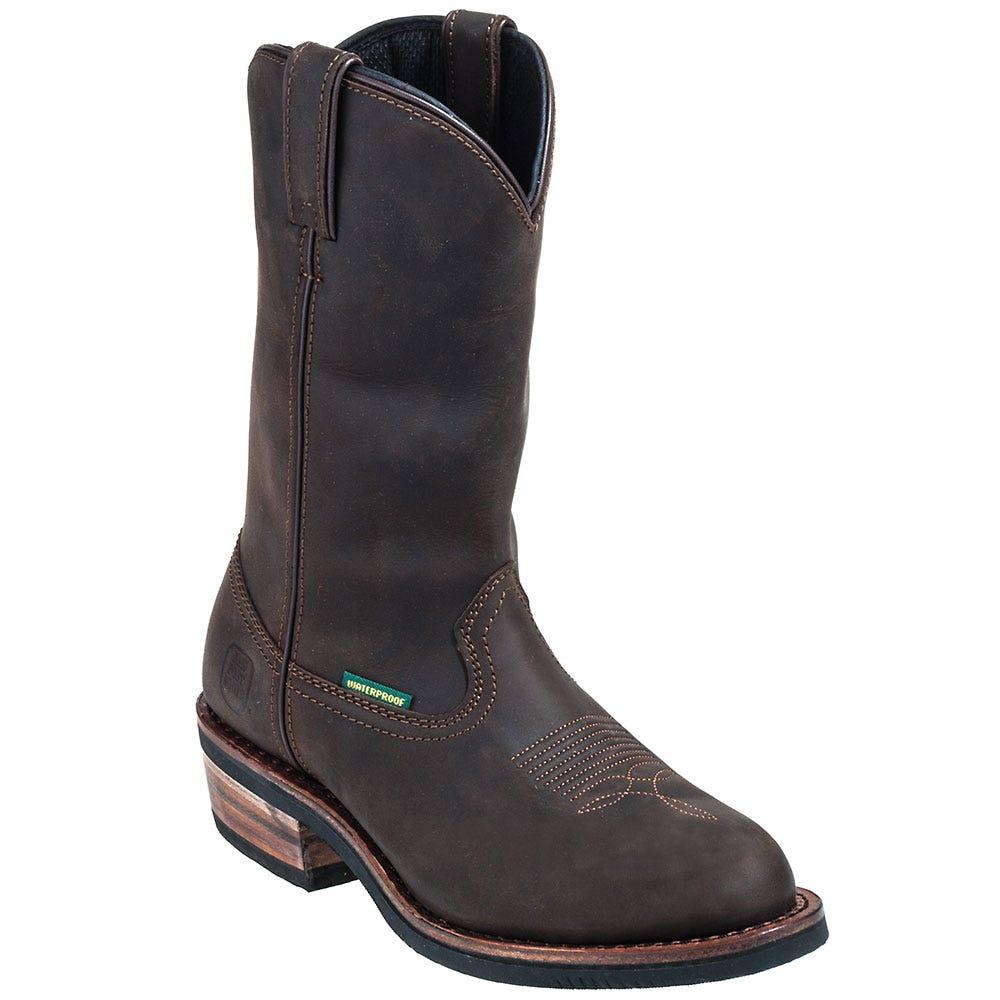 Dan Post Boots: Men's Waterproof DP69681 Distressed Leather Albuquerque Cowboy Boots