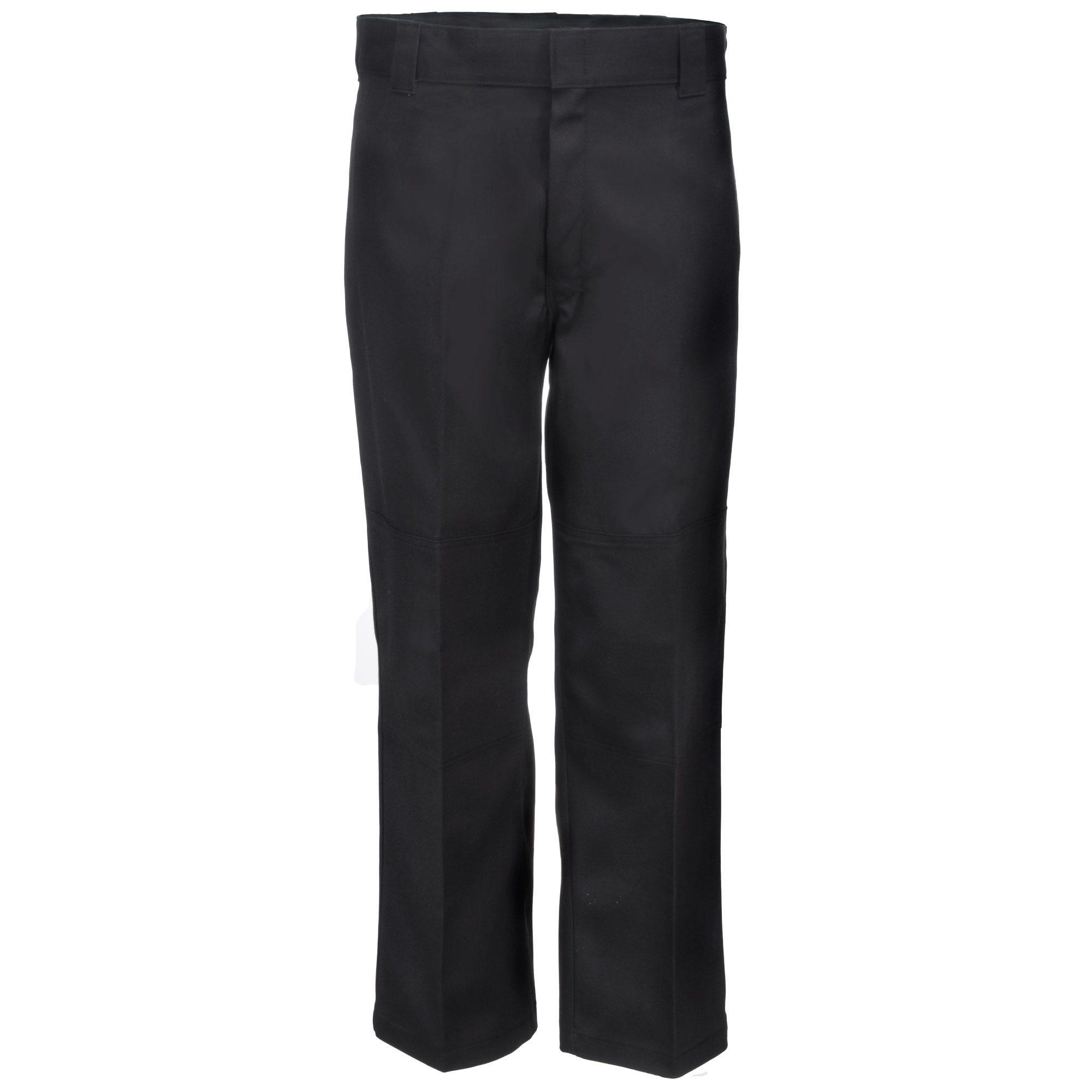 Dickies Black 85283 FBK Flex Loose Fit Double Knee Work Pants