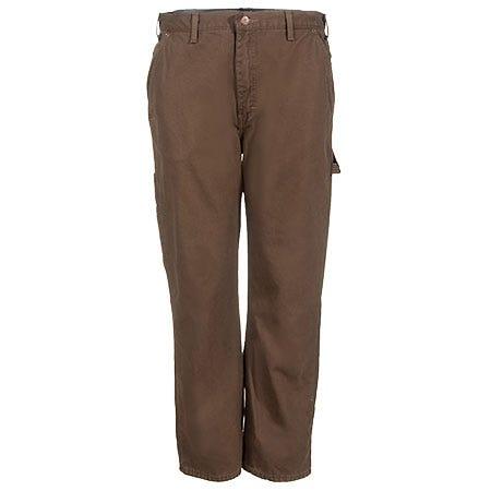 Dickies Work Pants: Men's DU217 RTB Flannel-Lined Duck Carpenter Pants Sale $38.00 Item#DU217RTB :