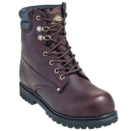 Dickies Boots Men's DW8022 Brown Waterproof Steel Toe Boots
