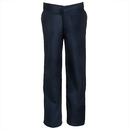 Dickies Women's Black FP321 BK Relaxed Fit Stretch Twill Work Pants