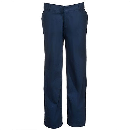 Dickies Women's FP321 DN Dark Navy Relaxed Fit Cotton Stretch Pants