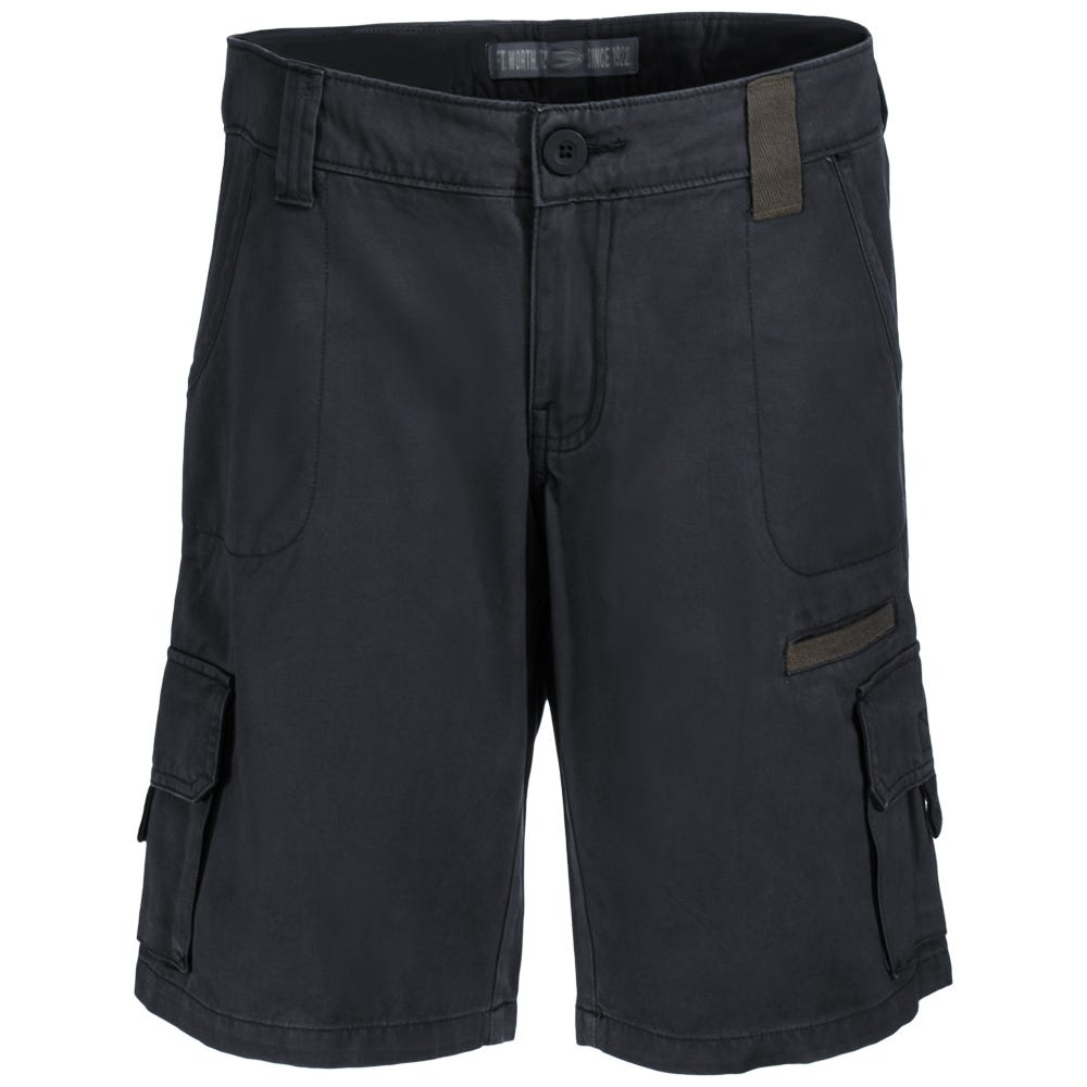 Dickies Women's FR327 RBK Black 10-Inch Relaxed Fit Cargo Shorts