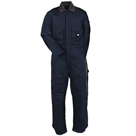 Dickies Coveralls: Men's TV239 DN Dark Navy Insulated Water Repellent Coveralls Sale $73.00 Item#TV239DN :
