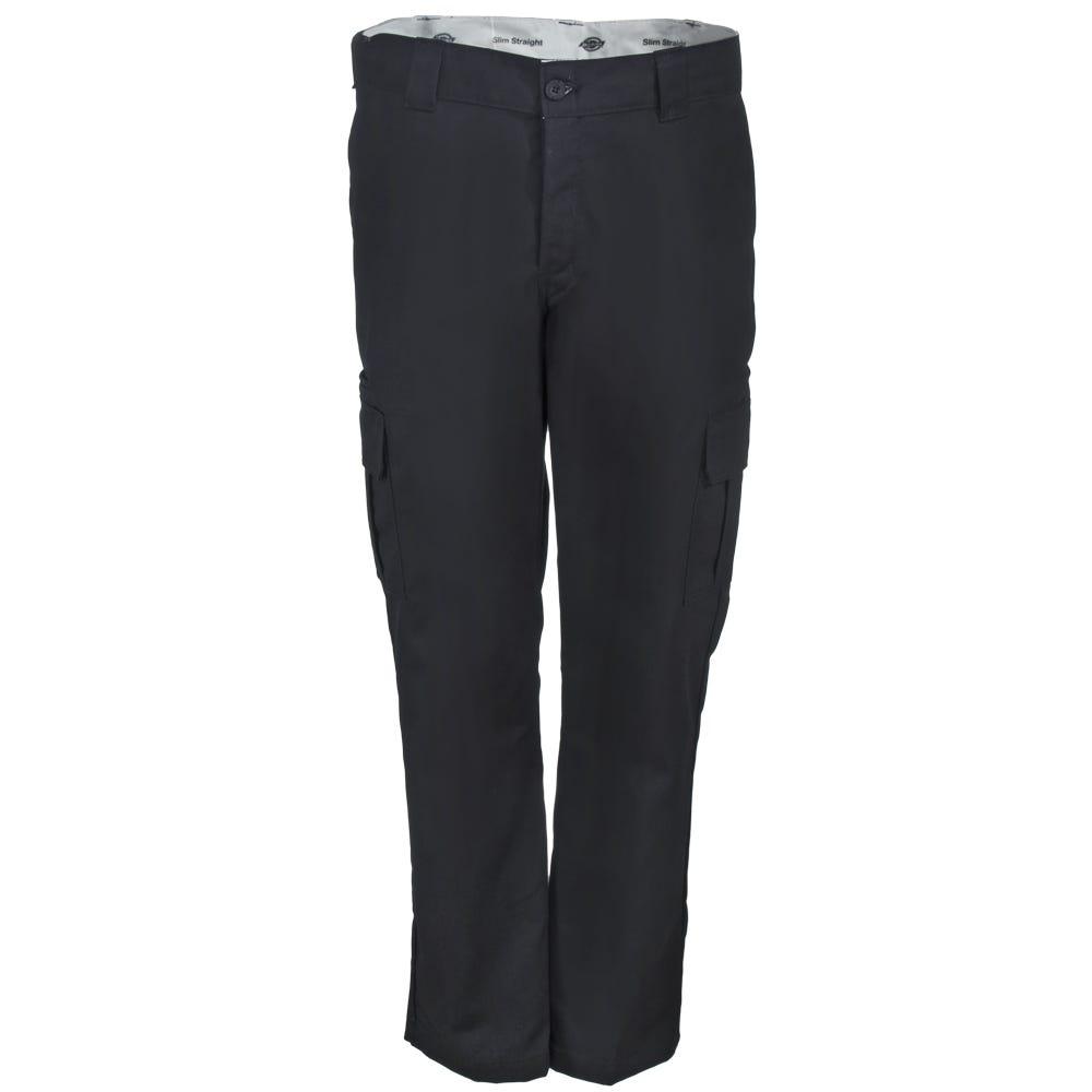 Dickies WP594 BK Black Flex Slim Fit Straight Leg Cargo Pants